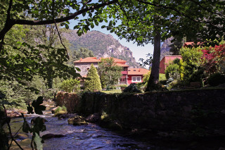 Hoteles rurales de Casonas Asturianas: vista general del hotel Palacio Álvaro Flórez-Estrada